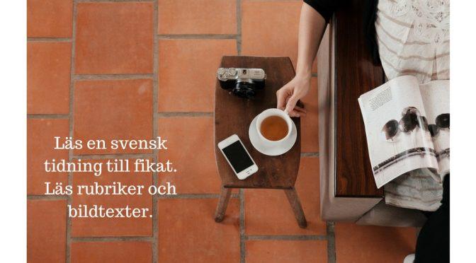 Svensk fika