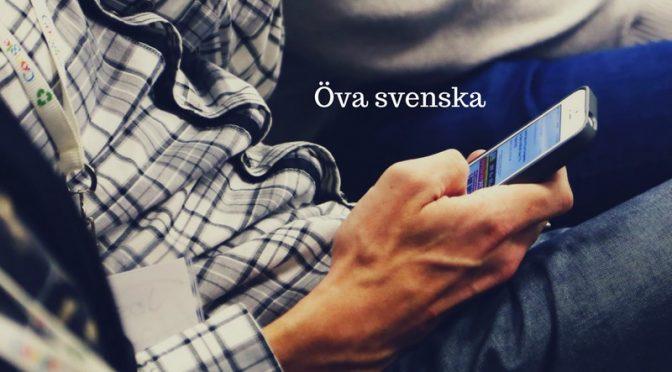 Social media settings to Swedish